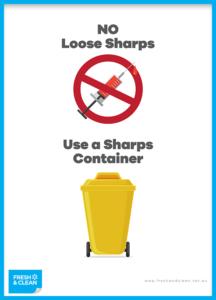 No Loose Sharps Poster
