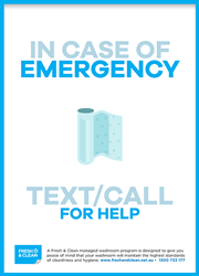 Emergency poster