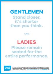 Ladies and Gentlemen poster