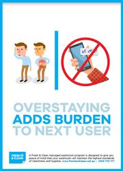 Adds burden poster