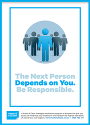 Next person depends on you poster