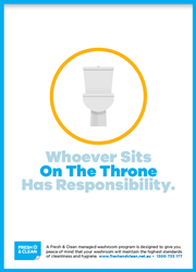 On the throne poster